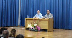 Alcaraz parlant de la Constitució al Campello