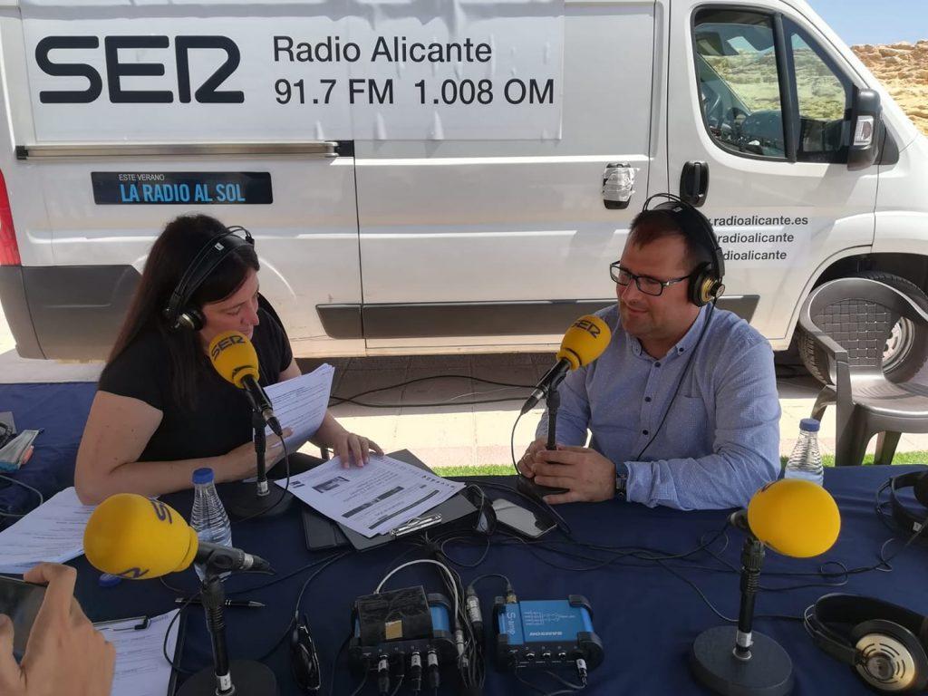Benja Soler a la Radio al Sol de Cadena Ser